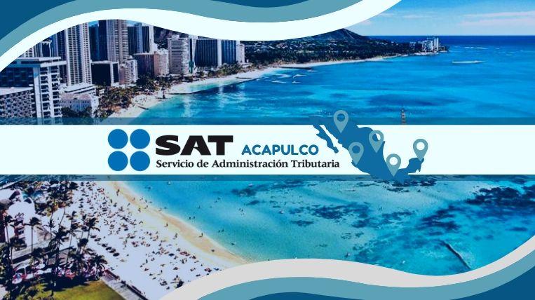 donde queda la sucursal del dat en acapulco